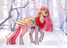 Winterhors by Riressa