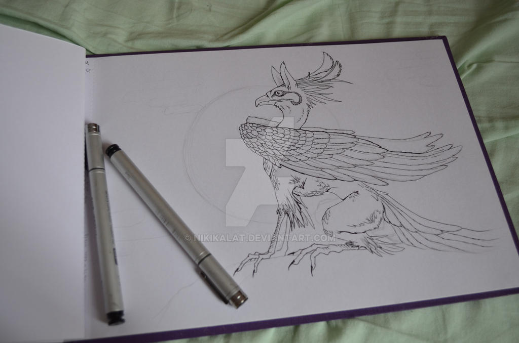 Phoenix of the past by NikiKalat