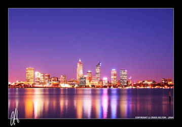 Twilight Perth by purplepawn