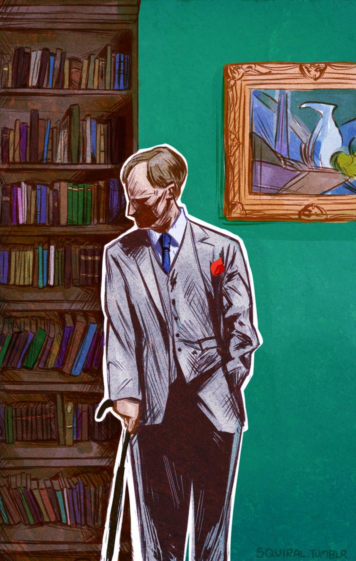 Mycroft by carbonaras