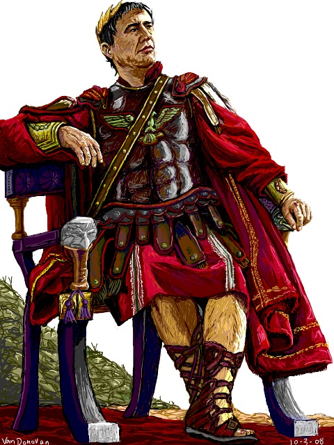 the romans prosper during the time of julius caesar Rome & julius caesar and no roman leader had more of an impact than julius his time in gaul, during which he would conquer most of what is now central.