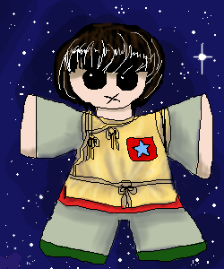Adric in space. by vandonovan
