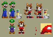 Mario+Luigi Dream Team - Luigine by t0ms0nic