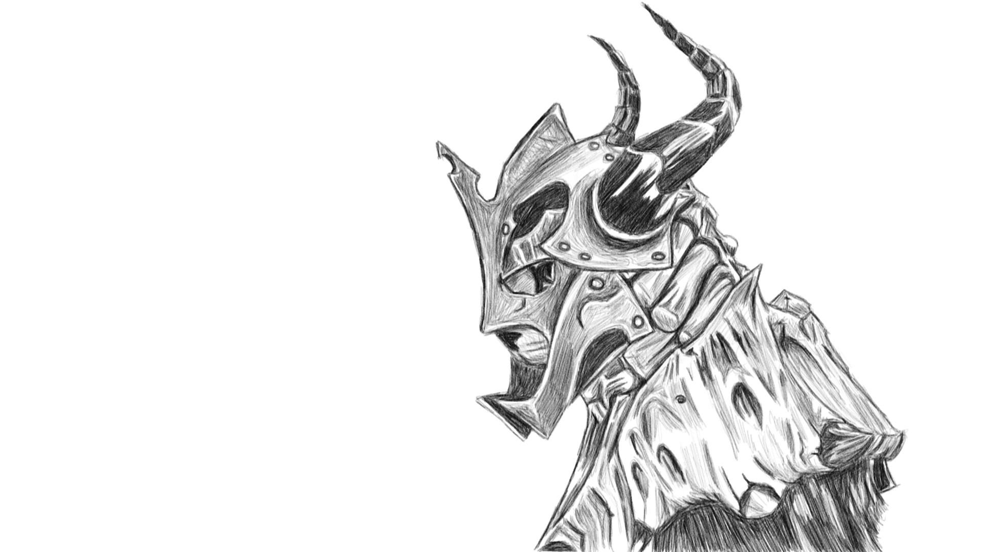 above is skyrim drawing - photo #46