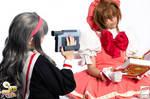 Sakura and Tomoyo - Sakura Card Captor