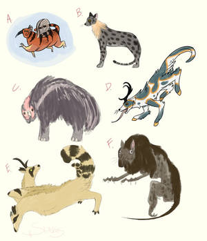 Fate Generated Critters