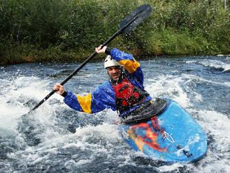 whitewater kayaking by ssv