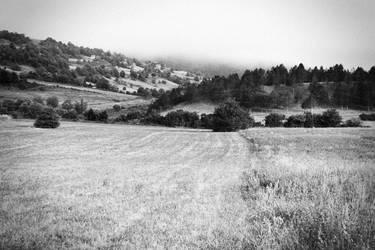 rolling hills of Bihac by ssv
