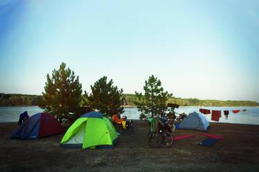 campsite by ssv
