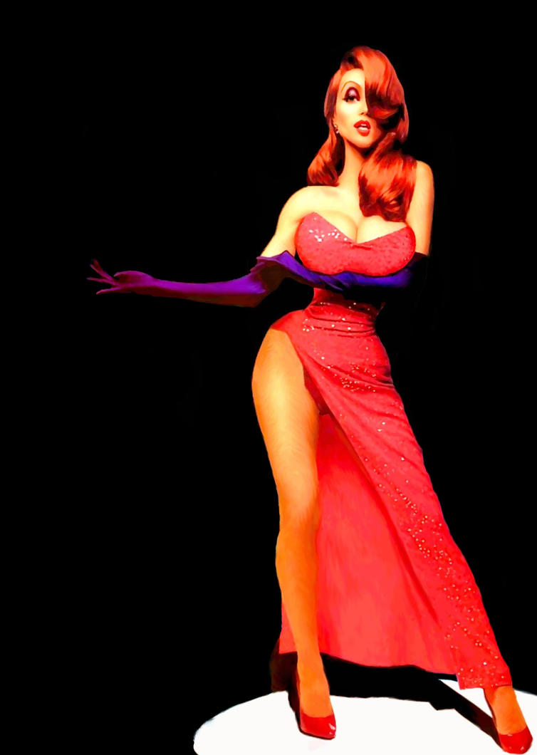 Jessica Rabbit By Kongvmax On DeviantArt