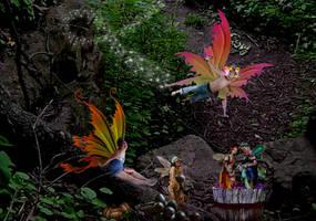 Fairie Fire Water by kongvmax