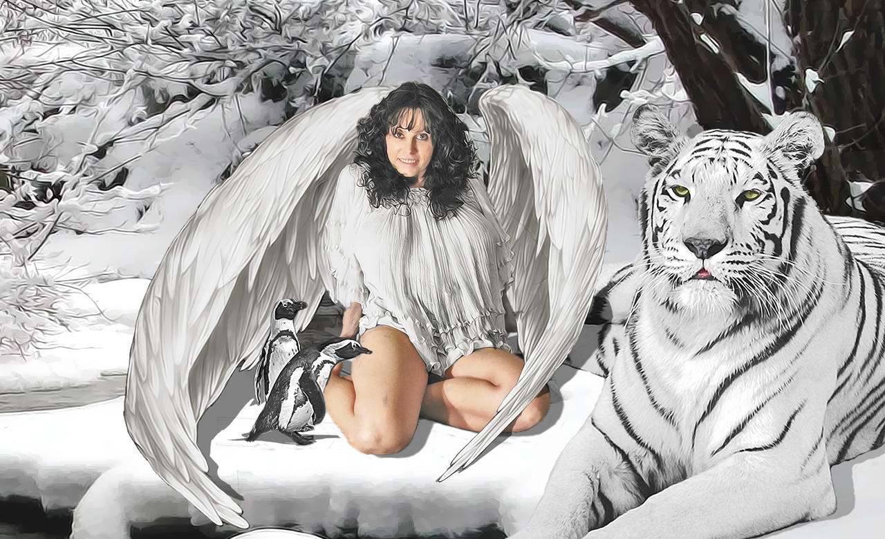 Ice Angel by kongvmax ...