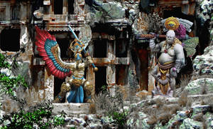 Guardians of the gods temple