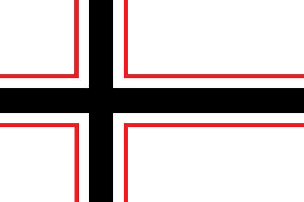 Das Eiserne Kreuz - Flag of Wolfenium by Konigsritter