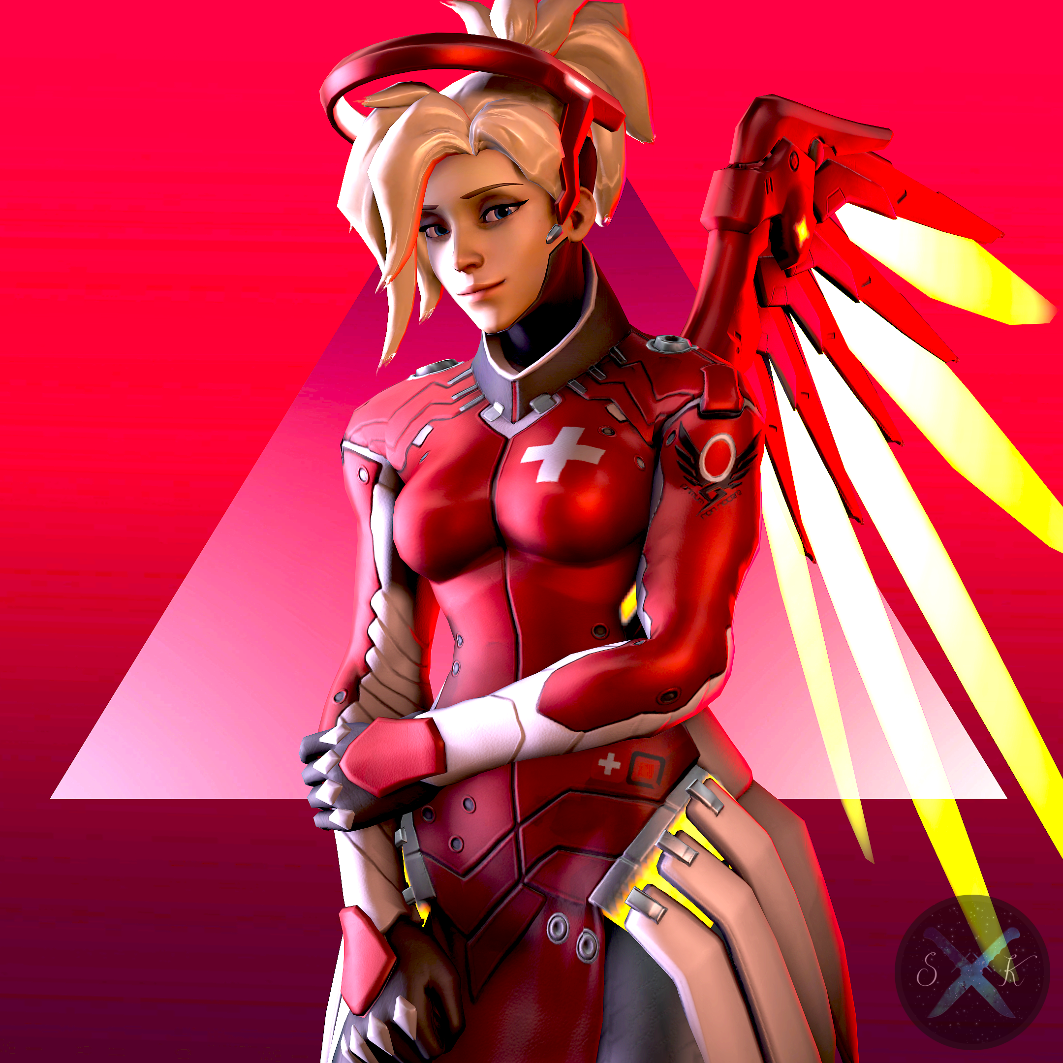 Mercy Portrait by SFM-ShatteredKnives