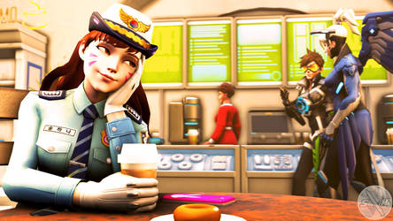 A Hard Day At Work by SFM-ShatteredKnives