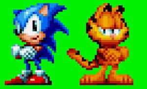 Sonic and... NOOOOOOOO!!!