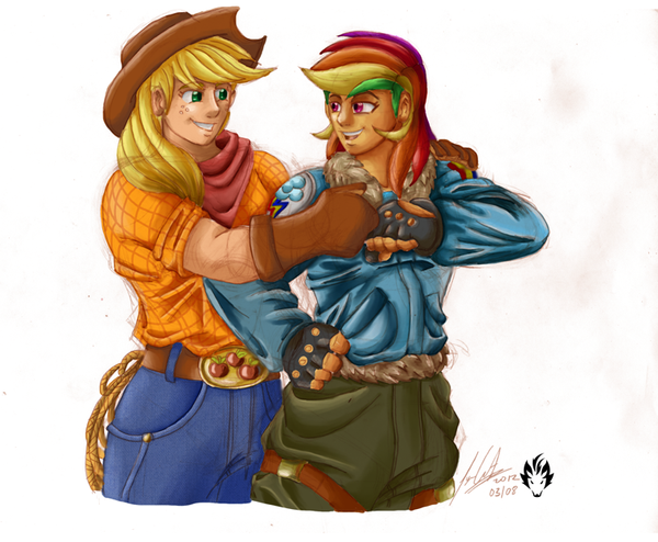 Appledash Humanized by JYC