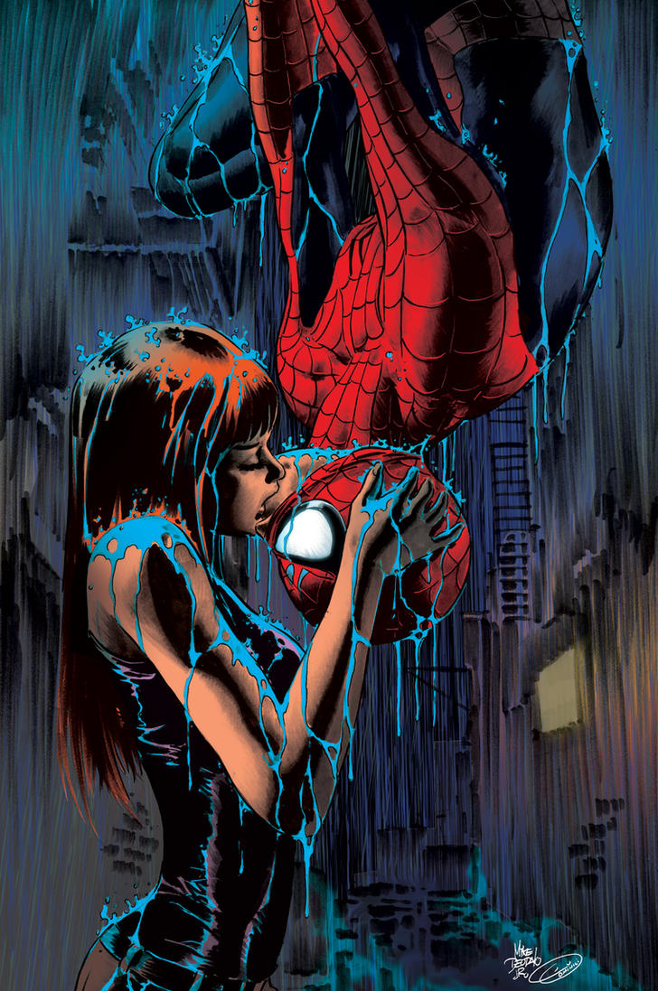 Mary Jane and Spidey by DuDominici