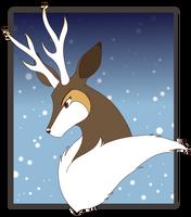 Winter Sawsbuck - Fleck by AdotSean