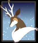 Winter Sawsbuck - Fleck