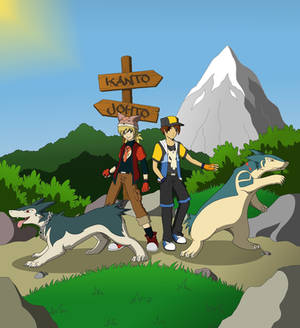 Five Adventures - Typhlosion times two