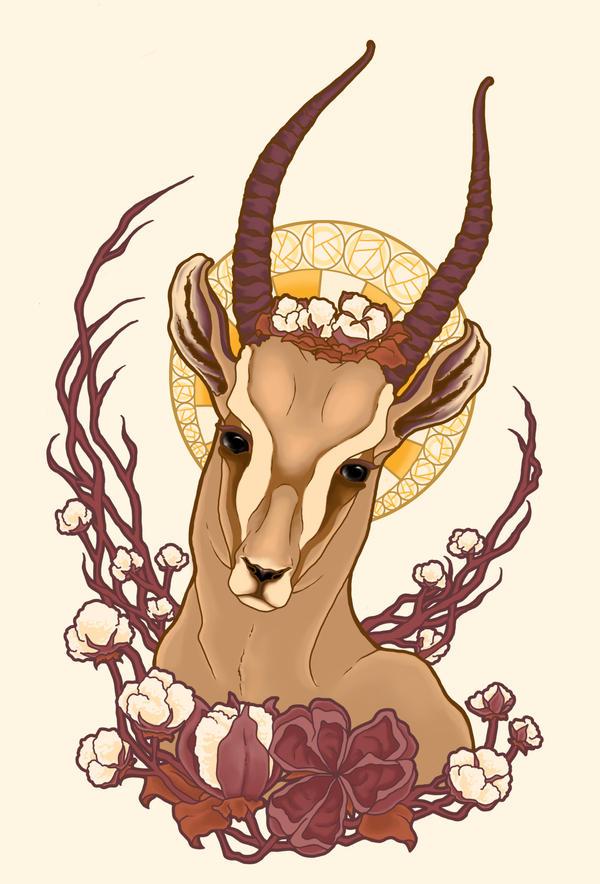 Gazelle Nouveau by GreyOculus