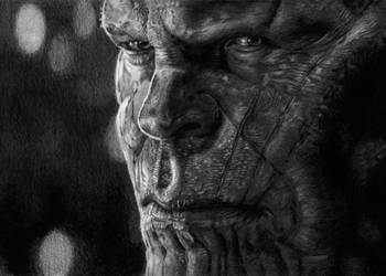 Thanos is watching you by Andrzej5056