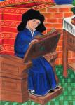 Guillaume de Machaut by Andrzej5056