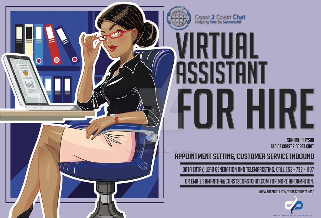 Virtual Assistant For Hire by TysonIsTyson
