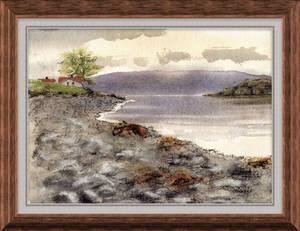 Scene from Norwegian fjord