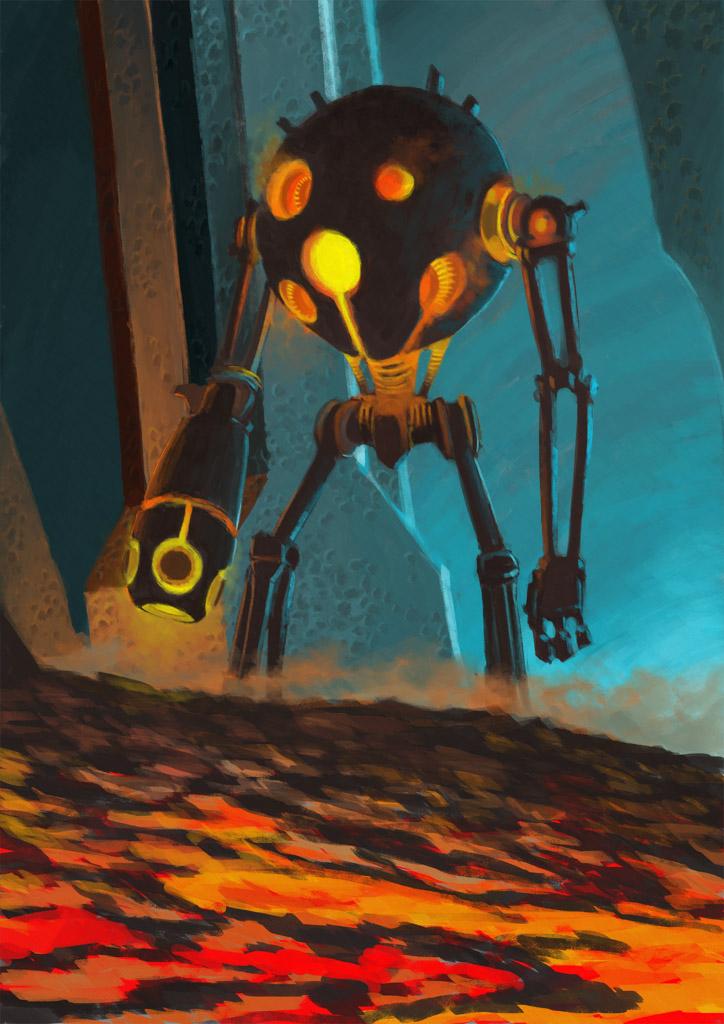 Round Bot by LasloLF