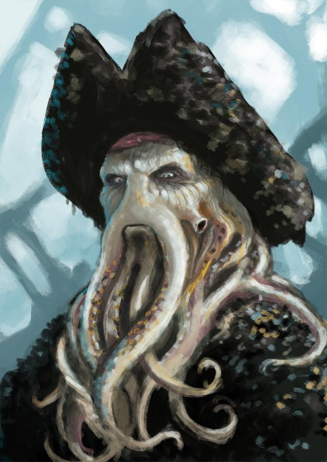 Davy Jones by LasloLF