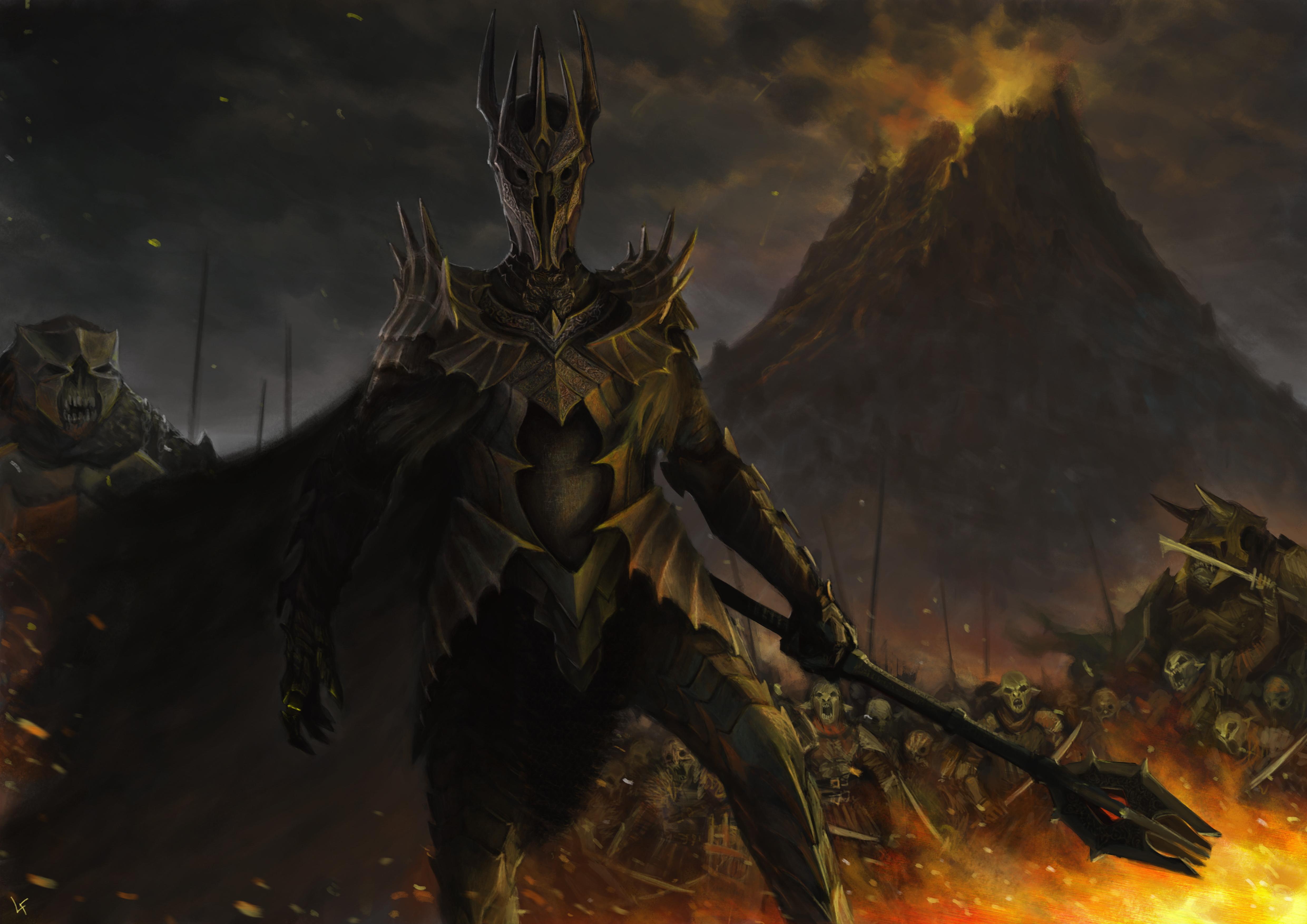 Fingolfin runs the Maiar (and 1 Dragon) gauntlet ...