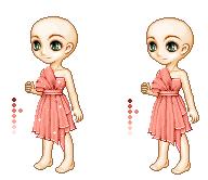 Pink Dress by NuriiiYuna