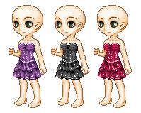 Ruffled dress by NuriiiYuna