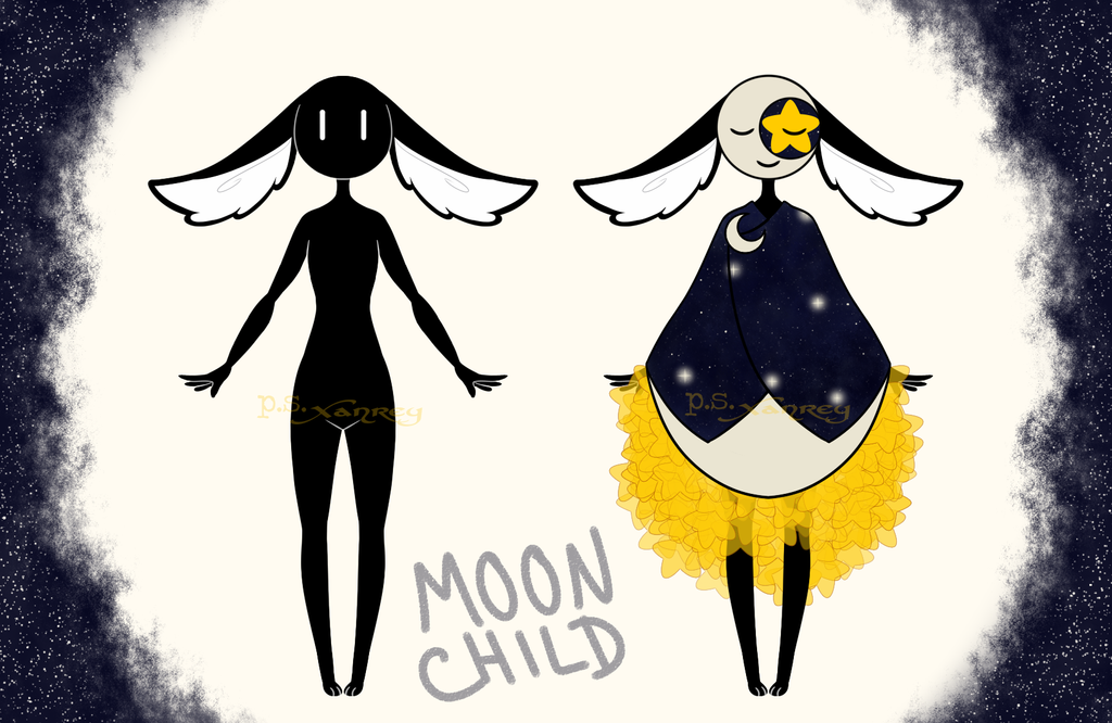 Mocchi Moon Child by Xanrey
