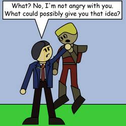 Theme Piece: Anger Issues by DarkKnightSpider