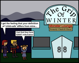 Theme Piece: Grip of Winter by DarkKnightSpider