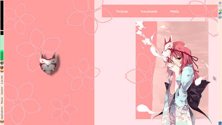 Former Desktop -Kunoichi Theme