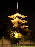 Toji Temple Kyotot by Jorlin