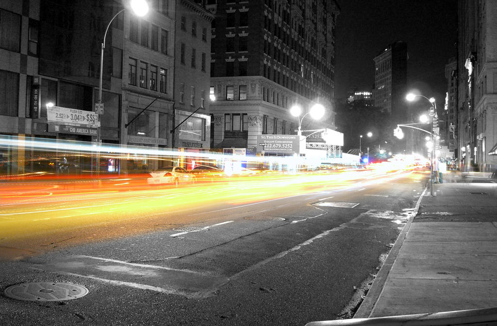 NY Night Lights 3 by Jorlin