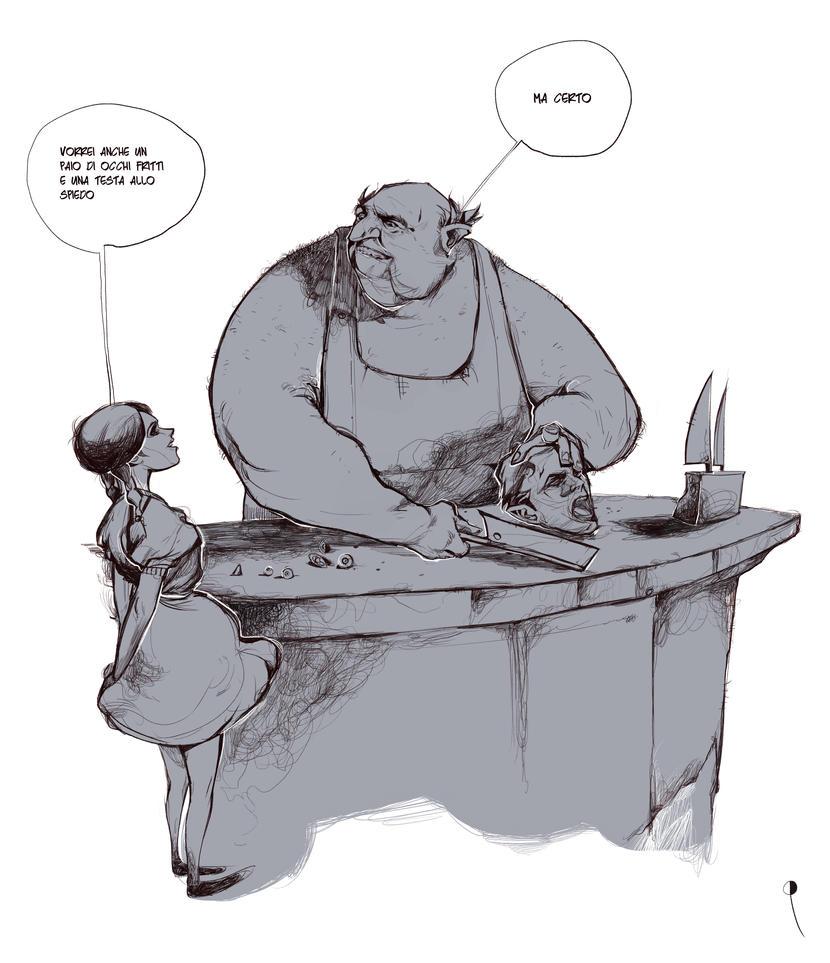 I racconti dell'orrore by DanieleRaineriArt