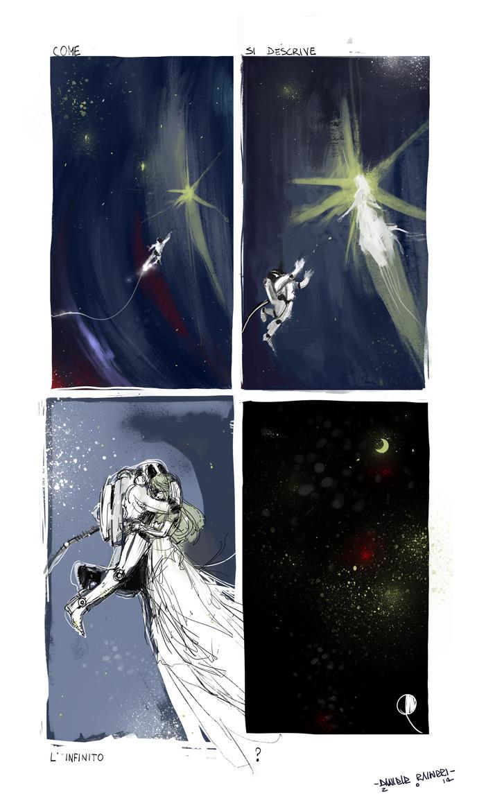 Space love by DanieleRaineriArt