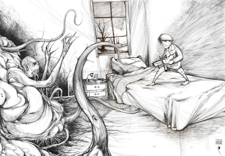 Combatti la paura by DanieleRaineriArt