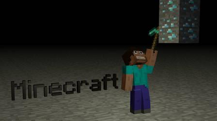 Minecraft diamond miner by MisteriosM
