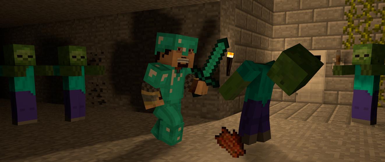 minecraft zombie spiele