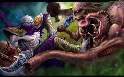 HON Heroes of Newerth Fight