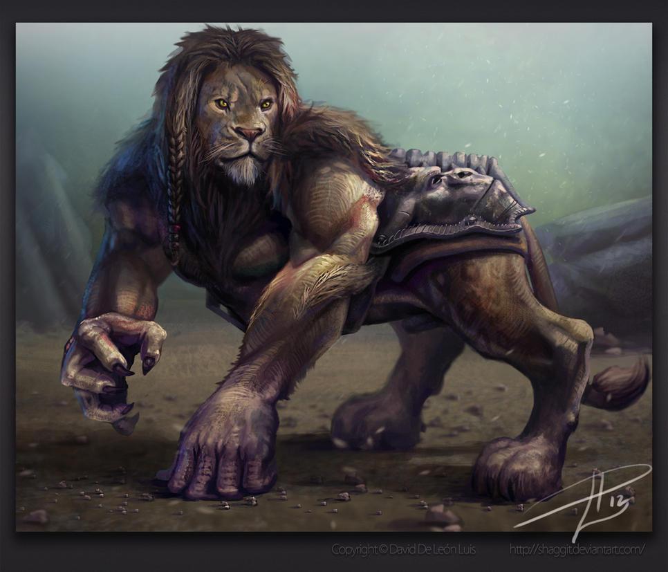 GoriLion by David De Leon Luis by Daviddleonluis