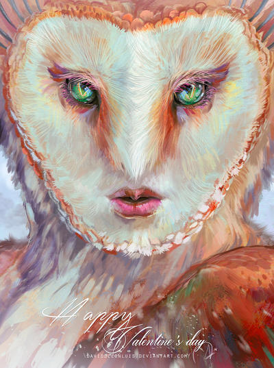 Queen of owls, by Daviddleonluis VD by Daviddleonluis